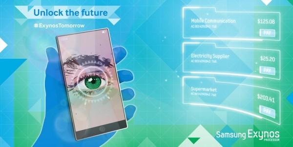 Samsung Galaxy Note 4: possibile con scanner della retina