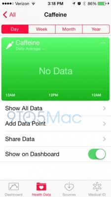 Apple iOS 8 Beta 3: arriva il contapassi nell'app Salute