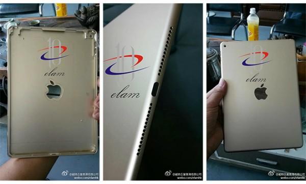 iPad Air 2: nuove immagini della scocca posteriore