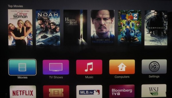 Apple TV: nuova interfaccia in stile iOS 7 nell'ultima Beta