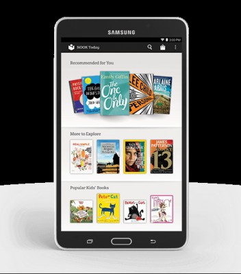 Samsung Galaxy Tab 4 Nook in vendita a 180 dollari
