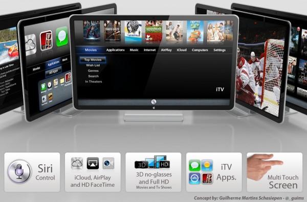 Brevetti Apple svelano iTV con Siri e Macbook Air con chipset Apple A8