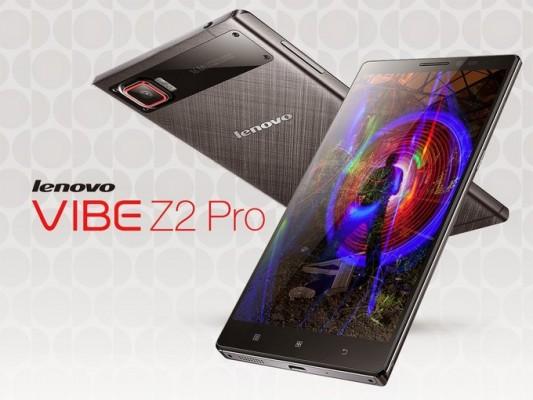 Lenovo Vibe Z2 Pro: nuovo phablet Android top di gamma da 6 pollici