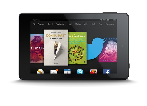 Amazon Fire HD 6 e Fire HD 7: caratteristiche e prezzo in Italia