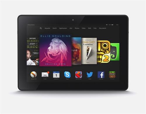 Amazon Fire HDX 8.9: nuovo modello in Italia al prezzo di 379 euro