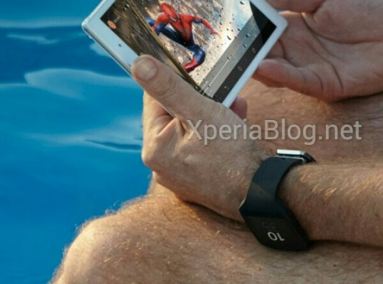Sony Xperia Z3 Tablet Compact: immagine di teaser ufficiale
