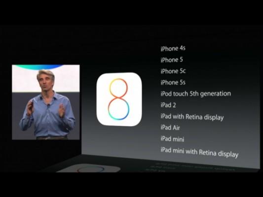Apple: niente più installazioni del firmware iOS 7, solo iOS 8