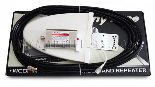 Migliorare il segnale 3G dell'iPad con Nikrans MA250 GW e AnyTone AT4000