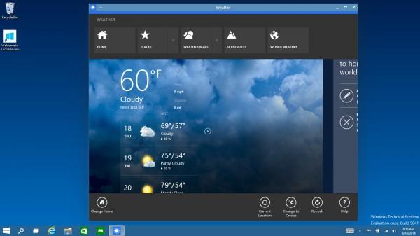 Microsoft svela Windows 10, il nuovo sistema operativo per PC, Tablet e Smartphone