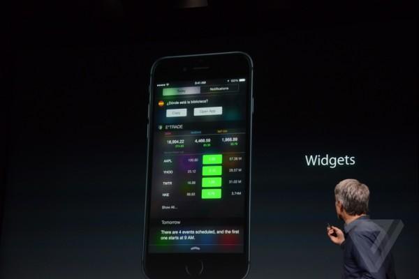 Apple keynote: novità di iOS 8, OS X Yosemite