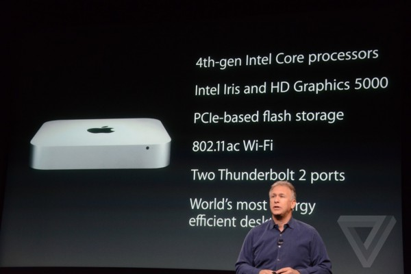 Apple keynote: prezzi e caratteristiche iMac Retina e Mac Mini 2014