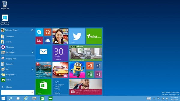 Microsoft svela Windows 10, il nuovo sistema operativo per PC, Tablet e Smartphone