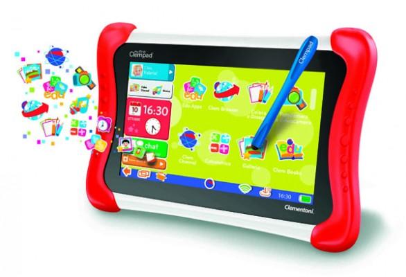 Clementoni Clempad: nuovi tablet Android per i più piccoli