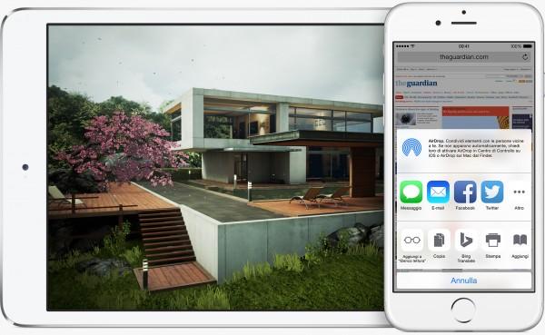 Apple iOS 8.1: download e novità della Beta 2