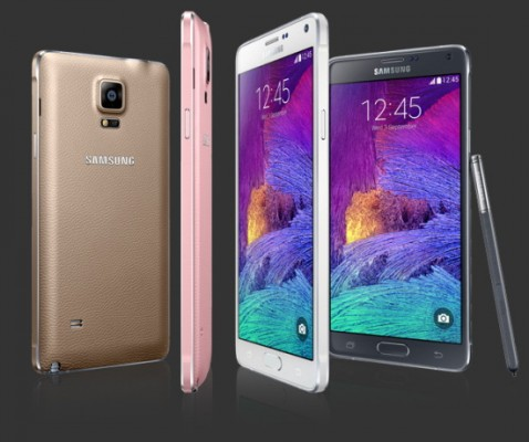 Samsung Galaxy Note 4 arriva a quota 4.5 milioni