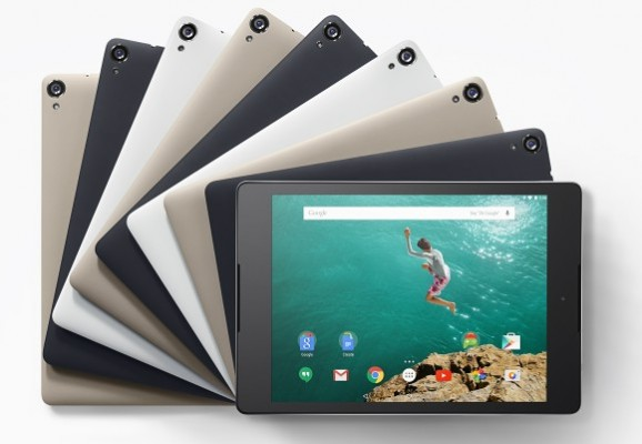 Google Nexus 9 disponibile per la prevendita in Italia