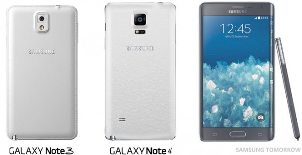 Samsung Galaxy Note 4: video sul design