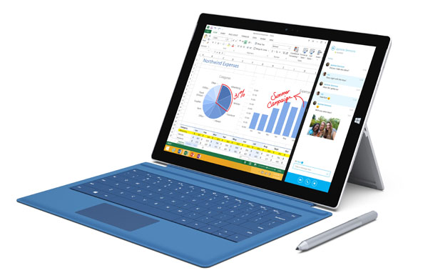 Microsoft Surface Pro 4: uscita nel 2015 con Windows 10