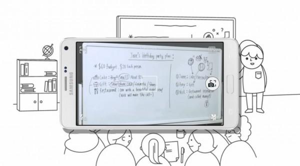 Samsung Galaxy Note 4: video sulle funzioni della stilo S Pen