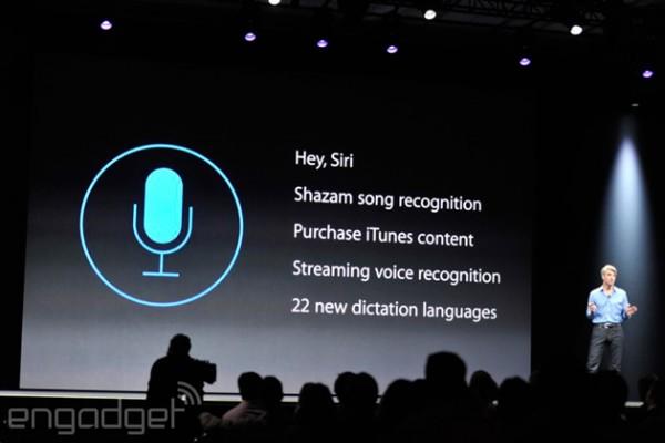 Apple iOS 8: nuovi comandi di Siri e messaggi vocali in iMessage