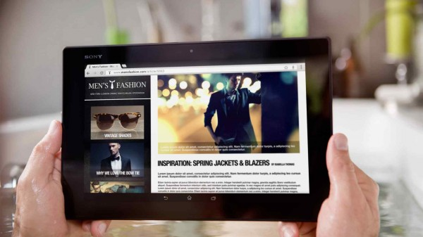 Sony Xperia Z4 Tablet avrà un display da 12 pollici e la penna touch