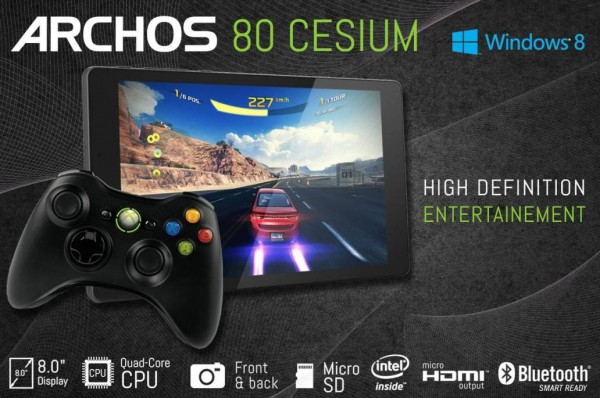Archos 80 Cesium: tablet Windows 8.1 al prezzo di 150 euro