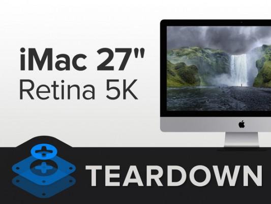iMac Retina 5K smontato pezzo per pezzo da iFixit