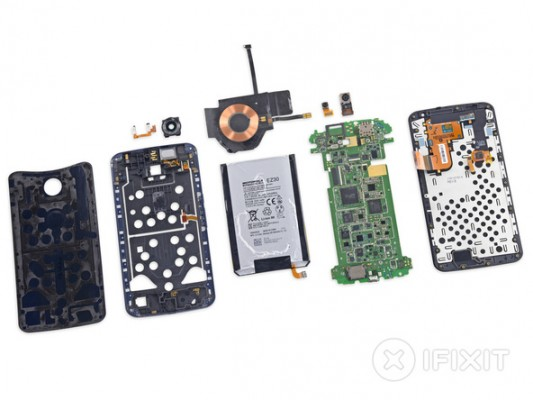 Google Nexus 6 smontato pezzo per pezzo da iFixit