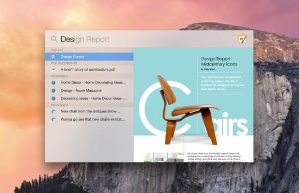 OS X Yosemite: riavviare e spegnere il Mac da Spotlight