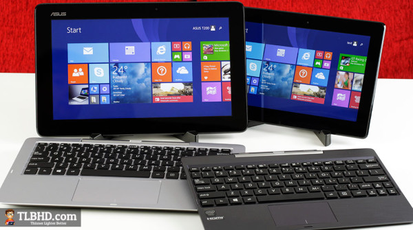 ASUS Transformer Book T100TAM: video confronto con il T200TA