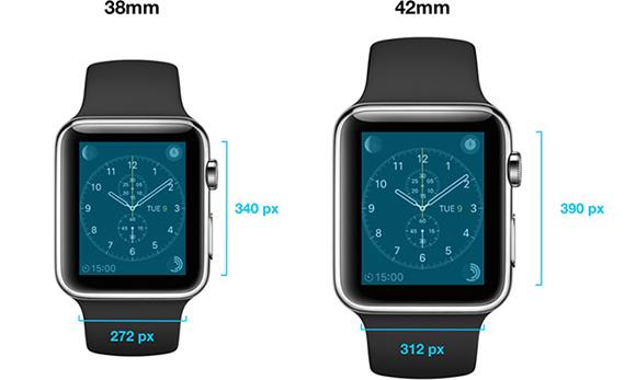 Apple Watch: svelata la risoluzione del display touch