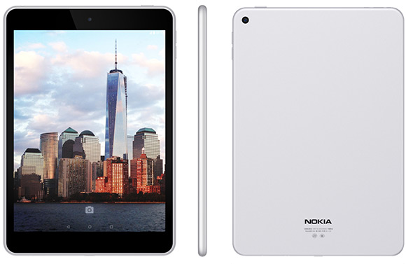 Nokia N1: ufficiale nuovo tablet Android clone iPad Mini