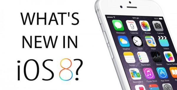 Apple iOS 8: infografica su tutte le novità