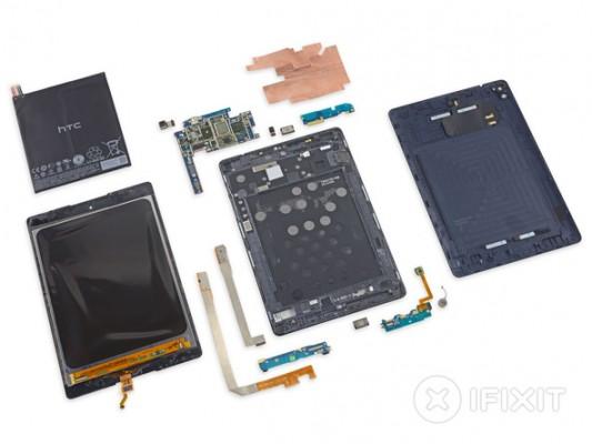 Google Nexus 9 smontato da iFixit, non è facile da riparare