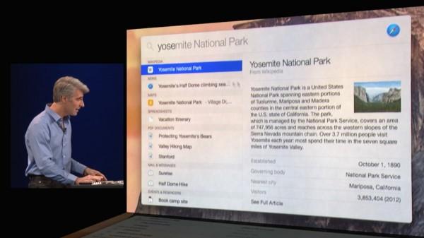 OS X Yosemite: riavviare il Mac direttamente da Spotlight