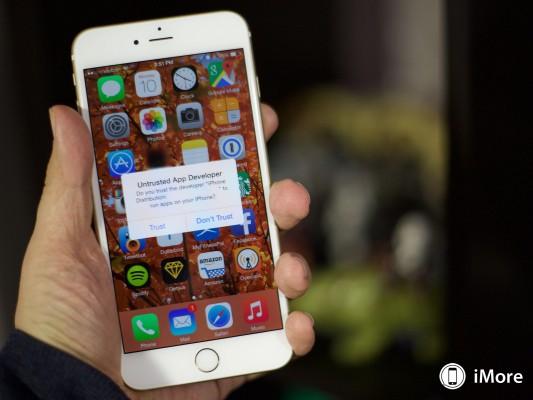 Apple rassicura sulla vulnerabilità Masque Attack di iOS 8