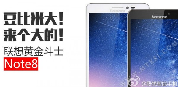 Lenovo Golden Warrior Note 8: prezzo phablet Android low cost