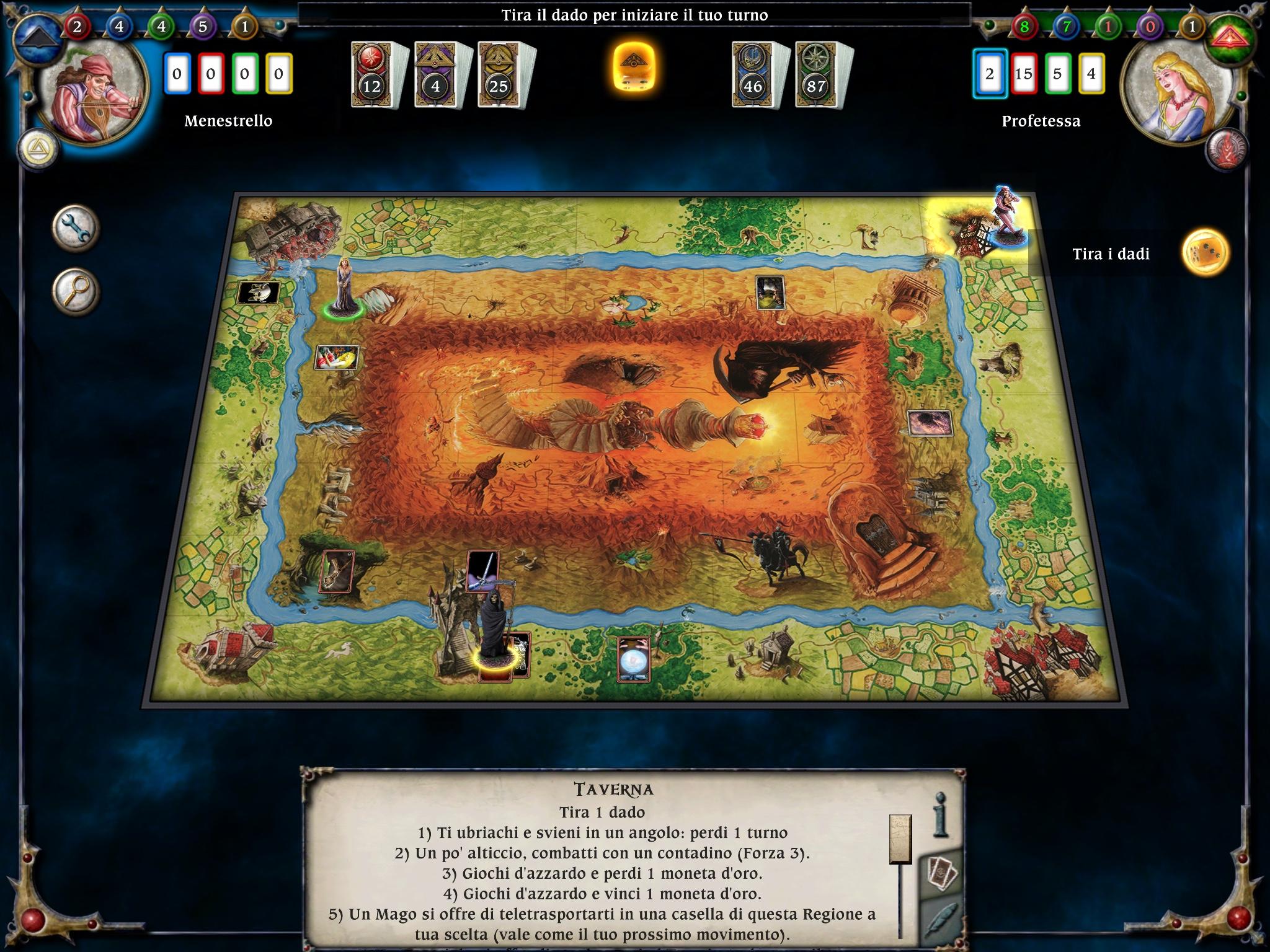 Talisman per ipad il celebre gioco da tavolo a giocare con gli amici - Talisman gioco da tavolo ...