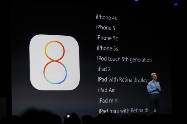 Apple iOS 8 e il supporto delle app a 64 bit
