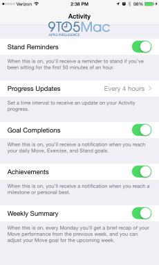 Apple Watch: la companion app di iOS 8.2 svela le funzioni