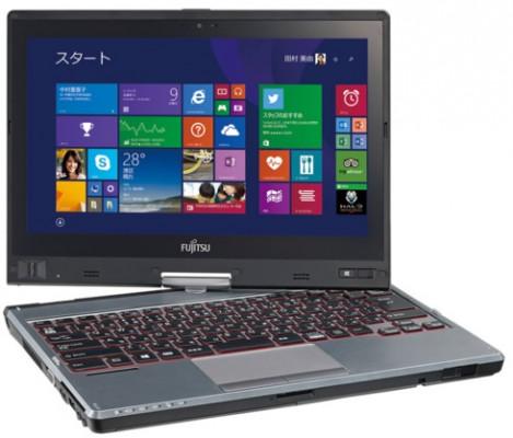 Fujitsu Lifebook T725: caratteristiche nuovo tablet PC convertibile