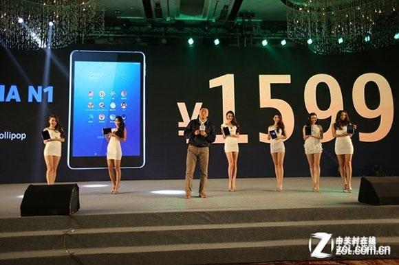 Nokia N1 in vendita in Cina a 260 dollari, uscita in Italia a febbraio