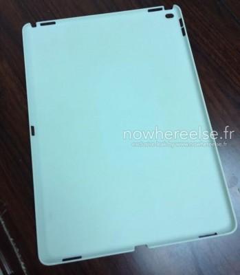 iPad Pro: prima immagine della cover protettiva