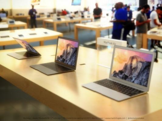 Macbook Air 12: ecco nuove immagini di rendering