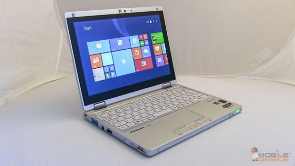 Panasonic ToughBook CF-RZ4: video recensione tablet ibrido Windows 8
