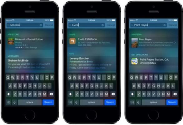 Apple iOS 8: guida per migliorare la ricerca Spotlight