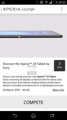 Sony Xperia Z4 Tablet: ufficiale il 2 Marzo al MWC 2015