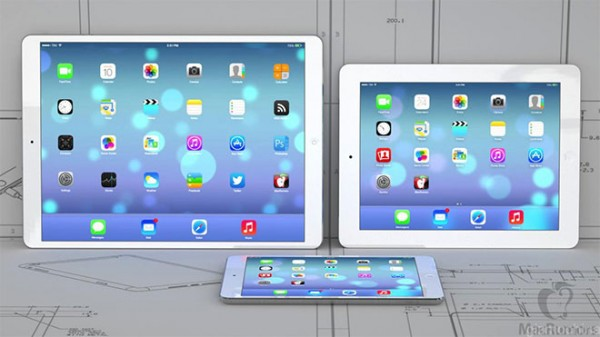 iPad Plus: spessore di 7 mm, Retina Display da 12.9 pollici
