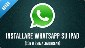 WhatsApp per iPad