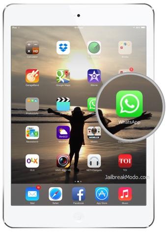 Come installare Whatsapp su iPad senza jailbreak